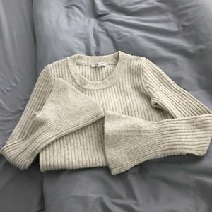 Madewell Bell Sleeve Sweater!